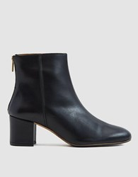 Atp Atelier Mei Ankle Boot In Black Fave Black Vacchetta
