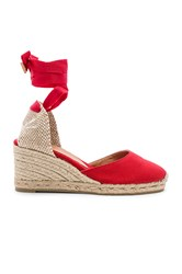 Castaner Carina Wedge Red