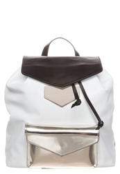 Ab A Brand Apart Rucksack Black White Gold Coloured
