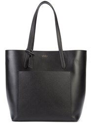 Smythson Patch Pocket Shopper Toe Women Leather One Size Black