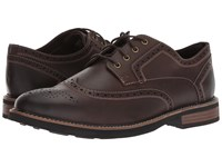 Nunn Bush Oakdale Wingtip Oxford With Kore Walking Comfort Technology Brown Ch Lace Up Wing Tip Shoes
