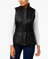 Barbour Wray Quilted Vest Black