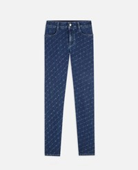 Stella Mccartney Blue The High Rise Skinny