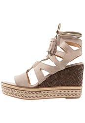 Kanna Praga High Heeled Sandals Taupe