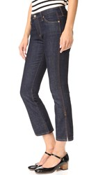 Ag Jeans The Jodi Crop Side Slit Lacquer
