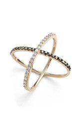 Women's Judith Jack 'Rings And Things' Crossover Ring