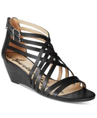 American Rag Mariel Demi Wedge Sandals Only At Macy's Women's Shoes Black