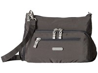 Baggallini Everyday Bagg Charcoal Cross Body Handbags Gray
