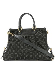Louis Vuitton Vintage Neo Cabby Mm 2Way Hand Bag Black