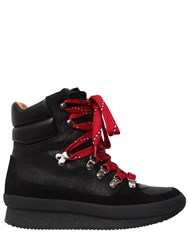Isabel Marant 50Mm Brendty Leather Hiking Boots