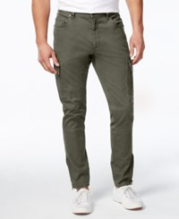 American Rag Men's Slim Fit Cargo Pants Only At Macy's Dusty Olive