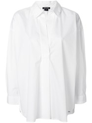 Woolrich Loose Fit Shirt White