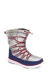 Women's Khombu 'Diamond' Waterproof Snow Boot 1 1 4' Heel