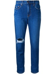 Nobody Denim Bailey Slim Fit Boyfriend Jeans Blue
