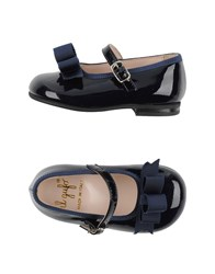 Il Gufo Footwear Ballet Flats Women Dark Blue