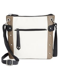 Styleandco. Style Co. Tate Crossbody Only At Macy's White Sand Black