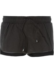 Nasir Mazhar Crossover Shorts Black