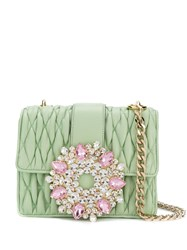 Gedebe Gio Embellished Tote Green