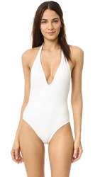 Vix Swimwear Ice Swimsuit Off White