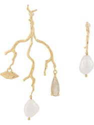 Wouters And Hendrix Mouth Branch Earrings 60
