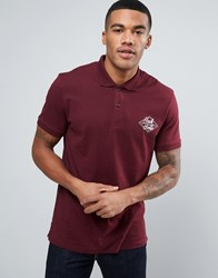 Jack And Jones Chest Logo Polo Red