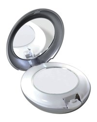 Led Lighted 10X 1X Compact Mirror Tweezerman
