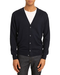 Menlook Label Oliver Navy Cardigan