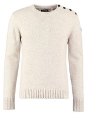 Schott Nyc Outrider Jumper Naturel Beige