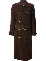 Yves Saint Laurent Vintage Classic Trench Coat Brown