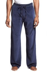 Men's Daniel Buchler Velour Lounge Pants Midnight