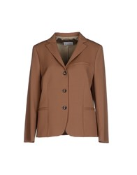 Alberto Biani Suits And Jackets Blazers Women Camel