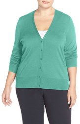 Plus Size Women's Sejour V Neck Cardigan