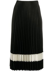 Theory Two Tone Pleated Skirt 60