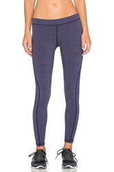 James Perse Yosemite Spiral Seam Yoga Pant Purple
