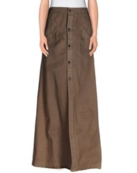 Dsquared2 Skirts Long Skirts Women