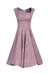 Jolie Moi Ruched Crossover Bust Prom Dress Lilac