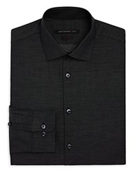 John Varvatos Star Usa Mini Dash Slim Fit Stretch Dress Shirt Black