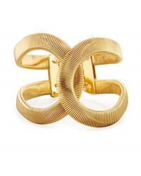Fragments For Neiman Marcus Coiled Hinged Cuff Bracelet Gold