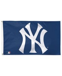 Wincraft New York Yankees Deluxe Flag Navy White