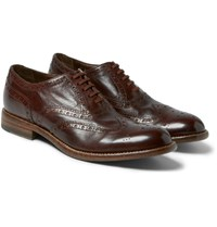 Paul Smith Blinky Leather Brogues Brown