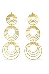Buccellati Hawaii Waikiki 18 Karat Gold Earrings