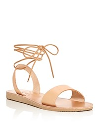 Joie A La Plage Pietra Lace Up Sandals Natural