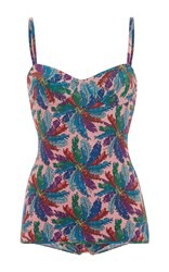 Emilio Pucci Sweetheart Swimsuit Print