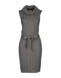 Timeout Short Dresses Grey