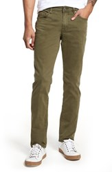 Liverpool Jeans Co. Kingston Slim Straight Leg Jeans Olive Night