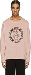 Stella Mccartney Pink Cat T Shirt