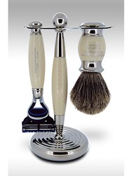 Taylor Of Old Bond Street Super Fusion Edwardian Shaving Set In Imitation Ivory Neutral