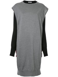 Toga Layered Knitted Dress Grey