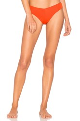 F E L L A Lukey Bikini Bottom Burnt Orange