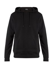 Marcelo Burlon Santiago Hooded Cotton Jersey Sweatshirt Black Multi